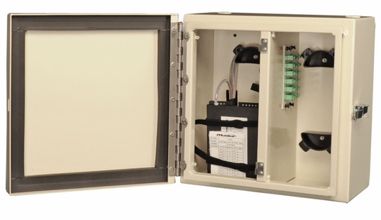 NEMA 4 Rated, 2 Panel Fiber Distribution Unit