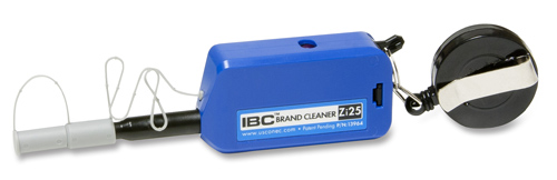 IBC Brand Cleaner Zi25 w/ Keychain for 2.5mm SC, ST, FC, E2000 and OptiTap® PC/APC Connectors