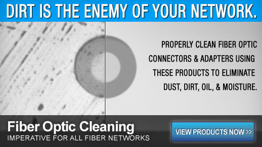 Fiber Optic Cleaning Products