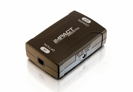 Optical to Coaxial Digital Audio Converter