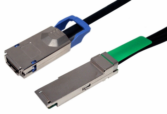 QSFP+ / CX4, 4X w/Ejectors, FOR CX4 & Infiniband Applications(DDR/SDR)