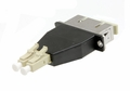 SC-LC Hybrid Duplex Fiber Optic Adapter - Multimode OM1