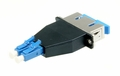 SC-LC Hybrid Duplex Fiber Optic Adapter - Singlemode OS2
