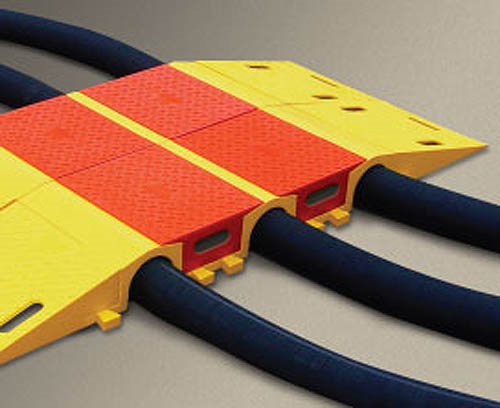 Tunnel only for up to 3.5 in. lines for Diamondback Multiple Channel Modular Cable and Hose Bridge Systems