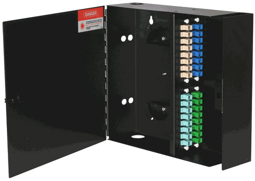 WAC-4X, Fiber Enclosure, Wall Mount, 4 Panel