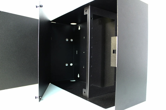 WAC-8X, Fiber Enclosure, Wall Mount, 8 Panel