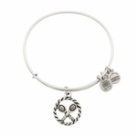 Game, Set, Match Alex and Ani Silver Bangle