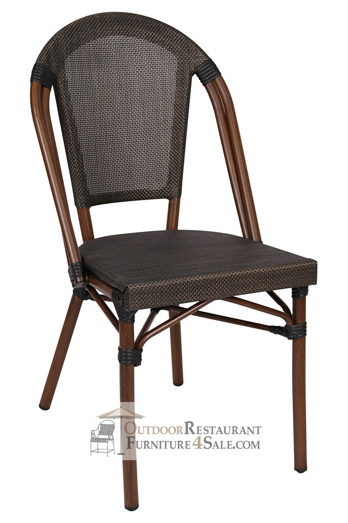 Sydney Collection Textilene Weave Side Chair