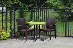 Synthetic Wicker Outdoor Restaurant Chairs