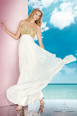 Alyce 2014 Ivory Gown 35577