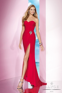Alyce Red Dress 35622