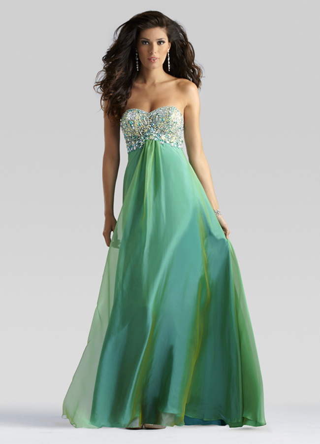 Jade green prom dresses