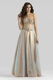 Clarisse Couture Nude Gown 4319