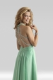 Clarisse Halter Long Prom Dress 2133