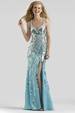 Clarisse Sequin Gown 2326