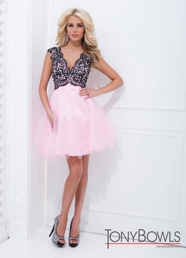 Lace and Tulle Prom Dress 11465