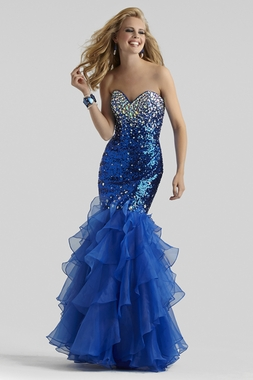 Mermaid Prom Gown 2304