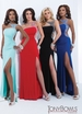 One Shoulder Tony Bowls Prom Gown 114707
