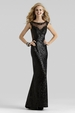 Sequin Evening Gown 2310