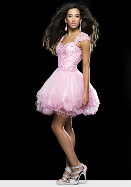 Short Tulle Dress 2332 by Clarisse