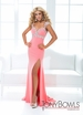 Tony Bowls Halter Prom Gown 114743