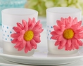 Daisy Gerbera Portavela o Candle holder (set de 4)