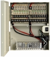 18 Channel 18 Amp 12V DC Camera Power Supply Box. UL Listed.