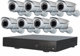 8 Camera CCTV Systems, Complete 8 Camera Video Surveillance Systems