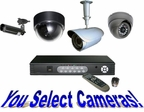 CT400CST - 4 Camera CCTV System Different Cameras To Choose