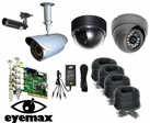 CT9030CST - Custom Built PC Based 4 Camera CCTV System