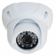 Gen IV CD4 EZMount Armor Infrared Color Dome Camera with Sony 600TVL and 3.6mm Fixed Lens. White Housing