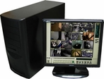 Geovision GV-1240-16, 16ch Video 16ch Audio 480/240FPS Real time Display Geovision DVR System