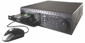 H.264 Advanced Video Compression Standalone 16 Ch DVR 480/240FPS 500GB