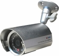 "IR 8215 Small Size Infrared Outdoor Camera 1/4"" Sony Super HAD CCD"
