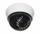 LTS CMD43IR Infrared Dome Camera with Vari-Focal Lens 2.8~12mm, 480 TVL, Indoor