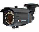 LTS CMR 8260B Night Vision Bullet Camera - Black, 130ft IR, 600TVL, Sony Effio DSP VF Lens 2.8~12