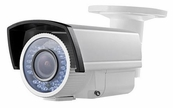 LTS CMR6373D 700TVL 2.8-12mm Varifocal Lens Infrared Night Vision Bullet Camera, Dual Voltage