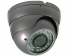 LTS CMT2060BD Vandal and Weather Proof Sony Effio DSP 600TVL Turret Dome Camera w/ Night Vision and Vari-Focal Lens, Dual Voltage 12V/24V (option)