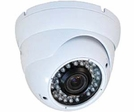 "LTS CMT2063 1/3"" CCD 600 TVL 2.8 ~ 12mm Varifocal Lens 35 PCS IR LEDs Weather-Resistant Vandal-Resistant DC 12V Dome Camera"
