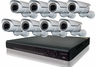 ProPlus Series PRO8PBIR 8 Camera CCTV System with Long Range Night-Vision Infrared Cameras