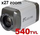 PT-7H54 540TVL / X27zoom / IR-cut Filter / RS-485 Day & Night / Auto Focus