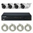 Truon NPK-SR5C0413AE 960p 4CH IP Package(Cameras + NVR)