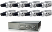 Ultimate Series CCTV System Best For Indoor Surveillance and Deterrent, for Hotel, Warehouse, Retail Store, Restaurant, Office
