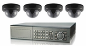 Ultimate Series, The Best 4 - 8 Camera CCTV Surveillance System with Dome Cameras, 8 Channel DVR Included