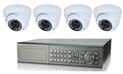 Ultimate Series, The Best 4 - 8 Camera CCTV Surveillance System with Infrared Turret Outdoor Cameras, 8 Channel DVR Included