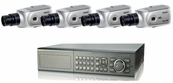 Ultimate Series, The Best 4 - 8 Camera CCTV Surveillance System with Professional Box Cameras, 8 Channel DVR Included