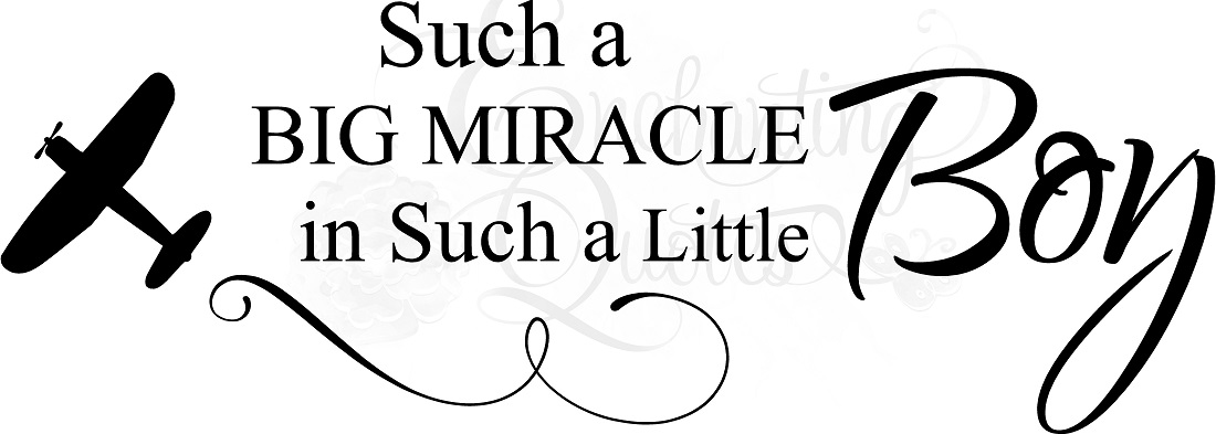 Such a Big Miracle Nursery Quotes About Little Boys