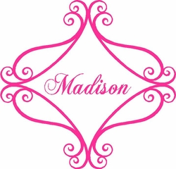 Personalized Baby Girl Quote