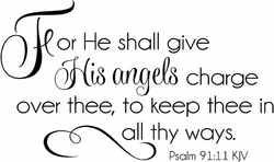 For He Shall Give His Angels Charge Over Thee