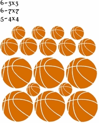 Basketball Wall Stickers